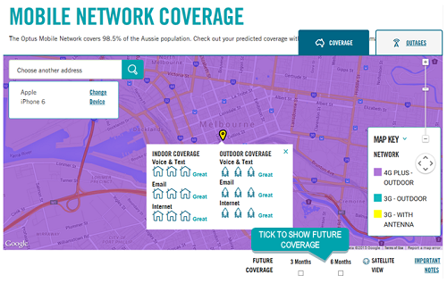 Image showing example of future coverage map detail