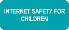 Button which clicks onto internet safety for children article