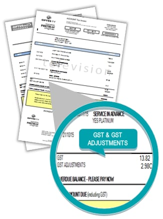 To Receipt Word How To View Your Online Bills Or Get Reprints Free Express Invoice Excel with Certified Mail Without Return Receipt Excel Image Showing Location Of Gst Debits And Credits On Cable Bills Invoice Organizer Word