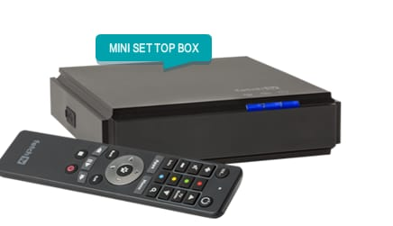Image of different set top boxes available